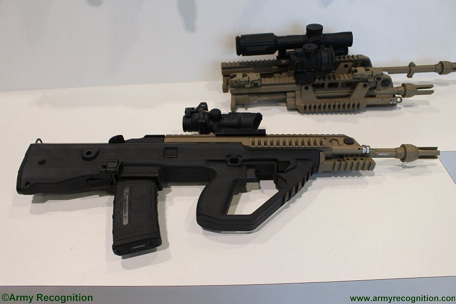 F90MBR Thales most modern assault rifle France French firearams defense industry 925 001