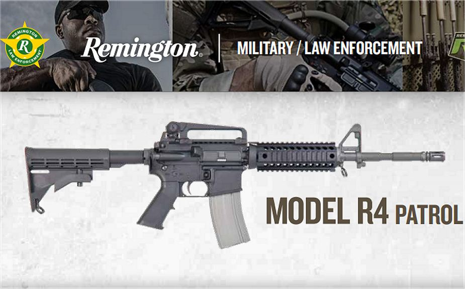 R4 Remington most modern assault rifle United States American firearams defense industry 925 001