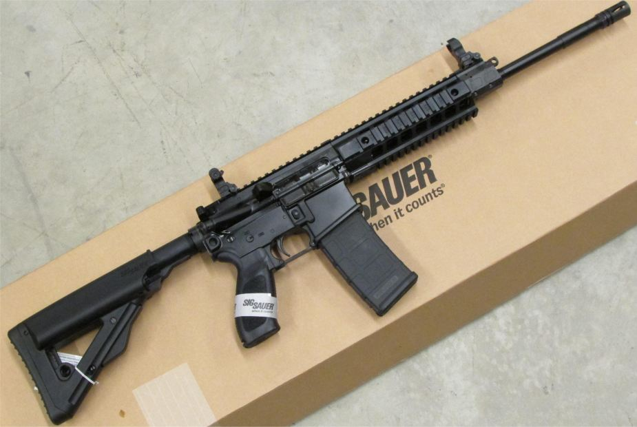 SIG516 Sig Sauer most modern assault rifle Germany German firearams defense industry 925 001