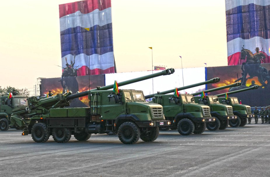 Military parade for Royal Thailand Army Day 5