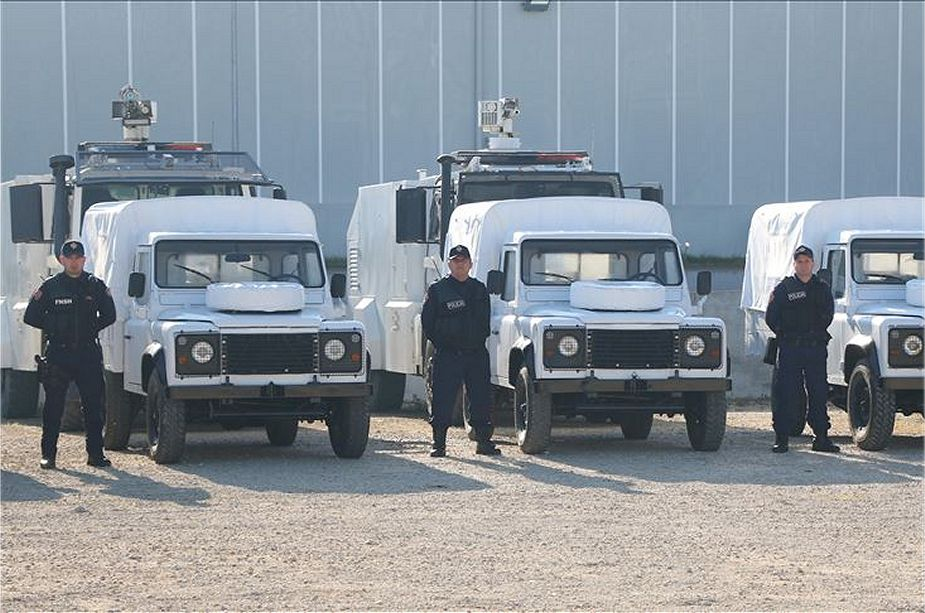 Turkey has donated armored vehicle and security equipment to Albania police 925 001