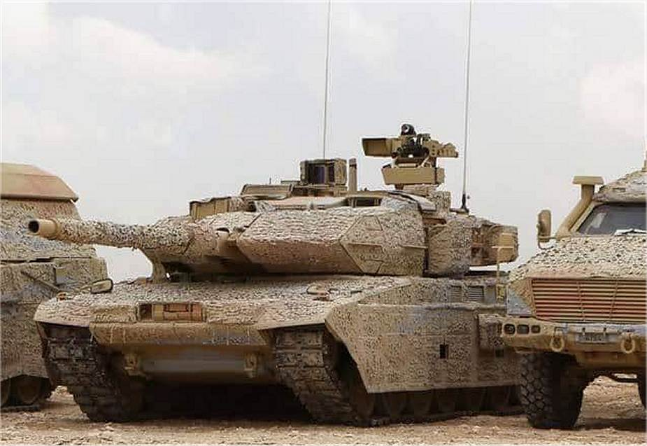 Leopard 2A7 Qatar is now one of the most well equipped military forces in the Middle East 925 001