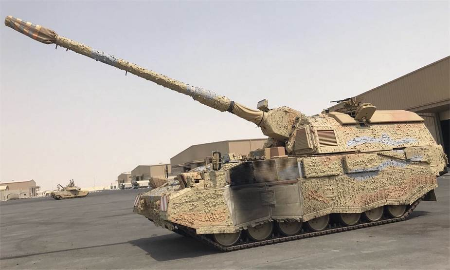 PzH 2000 Qatar is now one of the most well equipped military forces in the Middle East 925 001
