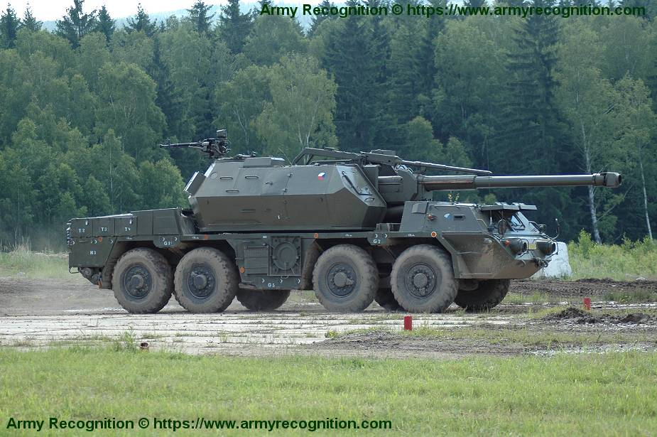 Czech Republic plans to purchase 52 French Nexter CAESAR 155mm wheeled self propelled howitzers 925 002
