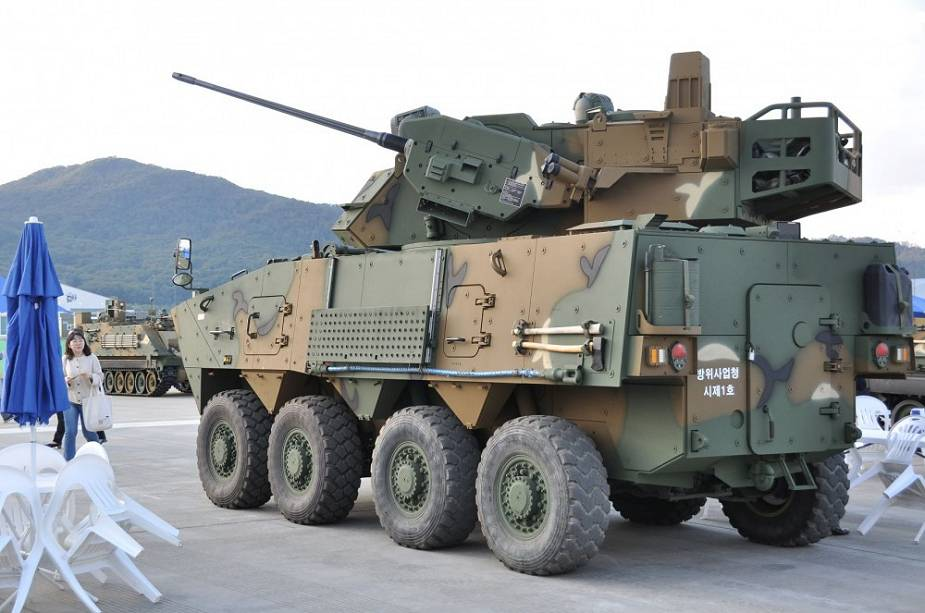 South signs contract to acquire new 30mm Anti Aircraft Gun Wheeled Vehicle Systems from Hanwha Defense 925 002