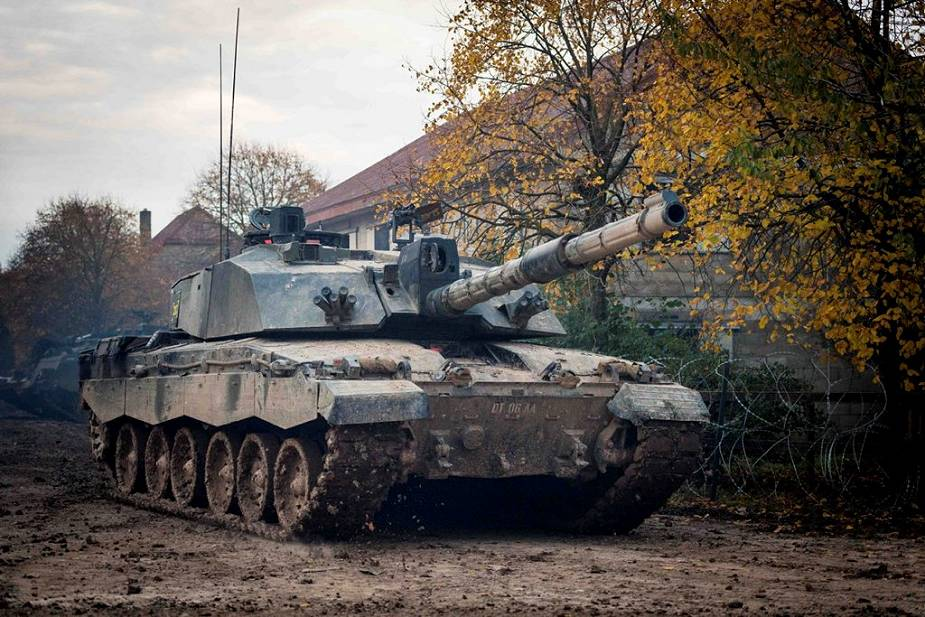 German Leopard 2 MBT could be an option to replace British army Challenger 2 tanks 925 002