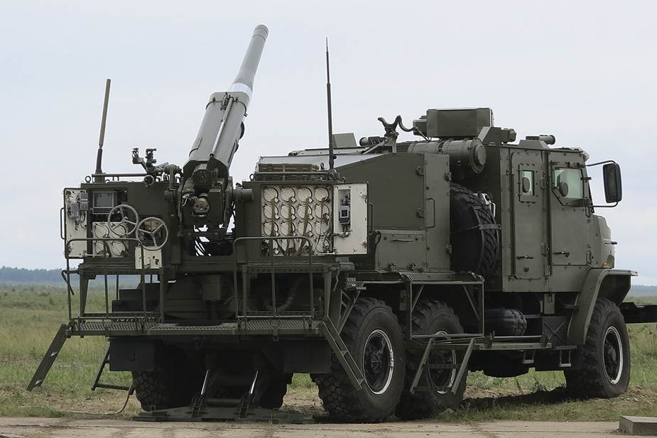 The Russian army will receive new artillery systems including 2S43 Malva and Flox 120mm mortar 925 002