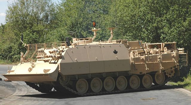 The Rheinmetall Group of Düsseldorf, Germany, is to supply the Canadian armed forces with the state-of-the-art Büffel/Buffalo armoured recovery vehicle. Rheinmetall secured this important contract in the face of stiff competition, underscoring the Group's leading role in the world of heavyweight combat support vehicles. The order is worth around C$54.7 million (€40 million).