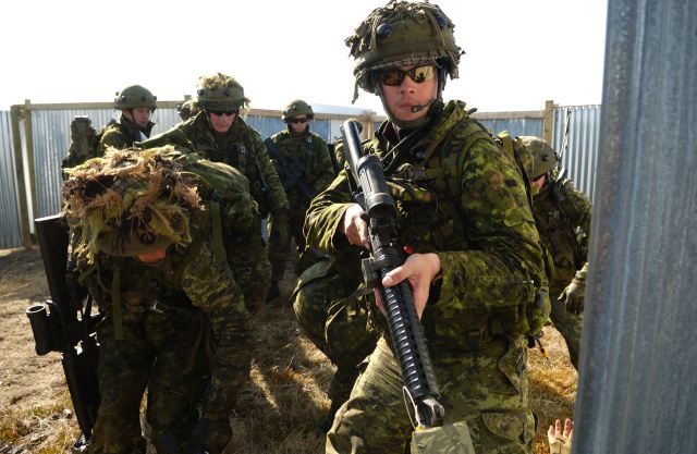 Canada Canadian Army ranks land ground forces combat field uniforms