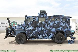 Thunder 2 Cambli 4x4 tactical armored truck personnel carrier technical data sheet specifications pictures video description information identification intelligence photos images Canada Canadian defence industry military technology army