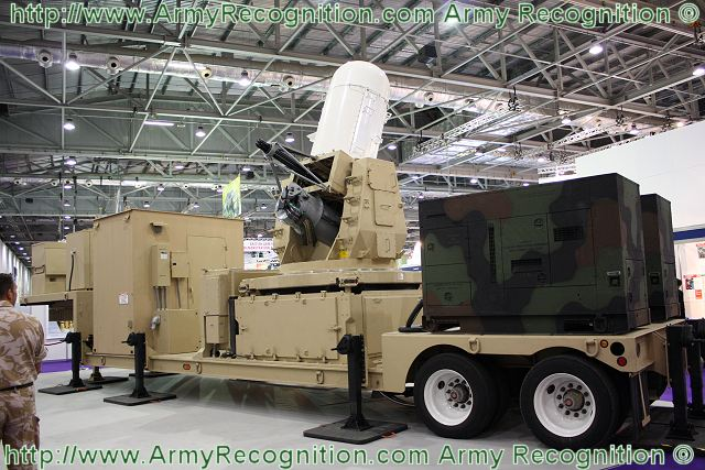 Centurion C-RAM on trailer Counter-Rocket Artillery Mortar weapons system United States American US army 640