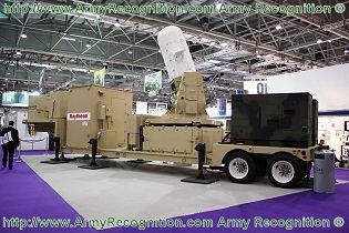 Centurion C-RAM Land-based weapon system Phalanx technical data sheet specifications information description intelligence identification pictures photos images US Army United States American Raytheon defence industry military technology counter-rocket artillery mortar