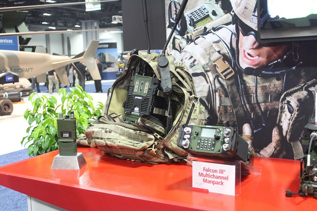 Harris Corporation, an international communications and information technology company, has introduced a multi-channel radio that will enable the U.S. Department of Defense to realize the fullest potential of the networked battlefield. The new Harris Falcon III® Multi-channel Manpack radio was unveiled during the 2013 Association of the United States Army (AUSA) conference in Washington, D.C.