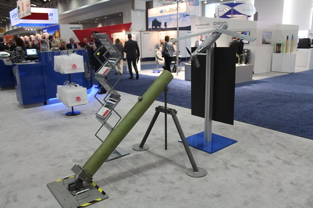 L-3 Unmanned Systems showcased during the 2013 Association of the United States Army (AUSA) conference in Washington, D.C its CUTLASS tube launched, expendable UAS. Cutlass is a tube-launched Small Unmanned Aircraft System (SUAS) capable of both air and ground launch from both 120 mm and 150 mm launch tubes.