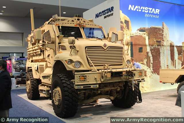 Navistar Defense, LLC is encouraging customers to think beyond the standard applications for its MaxxPro® MRAP and understand how the vehicle could be used for additional missions. Navistar Defense is showing its MaxxPro as a Mission Command on The Move (MCOTM) vehicle, at the Association of the United States Army (AUSA) Annual Meeting. The troop carrier comfortably seats five passengers in the trailer and incorporates brackets and mounts for computers and technologies used for surveillance while on the move.