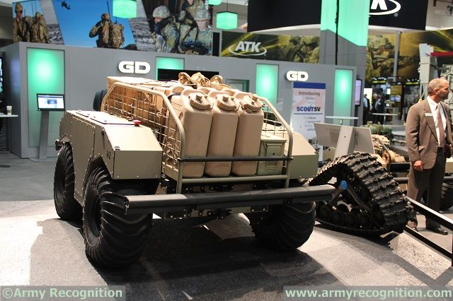 At AUSA 2014 (Association of United States Army) Annual Meeting currently taking place in Washington D.C., Generam Dynamics Land Systems is conducting live demonstrations of its latest unmanned ground vehicle (UGV): The Multipurpose Unmanned Tactical Transport (or MUTT).