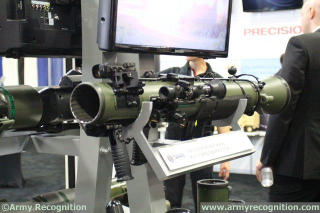 Defence and security company Saab is proud to present the newly-developed next generation Carl-Gustaf M4 at the 2014 Association of the U.S. Army exhibition in Washington D.C. The Carl-Gustaf M4, known in the U.S. as M3A1 MAAWS, is the latest man-portable shoulder-launched multi-role weapon system from Saab designed to provide users with flexible capability and help troops to remain agile in any scenario.
