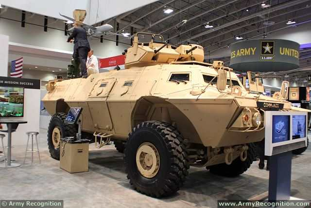 Textron Systems is exhibiting a COMMANDO Select armored vehicle with 40/50 turret at booth 6515 during the AUSA 2014 Annual Meeting & Exposition, October 13-15, in Washington, DC. Textron Systems will provide 10 COMMANDOT Select four-wheeled armored vehicles, along with related fielding hardware and technical services, to the Bulgarian National Military Forces.