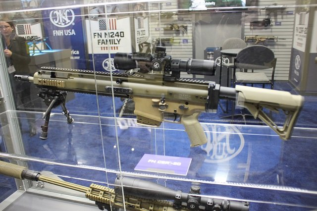AUSA 2015 FNH USA unveils a brand new set of advanced firearms 640 003