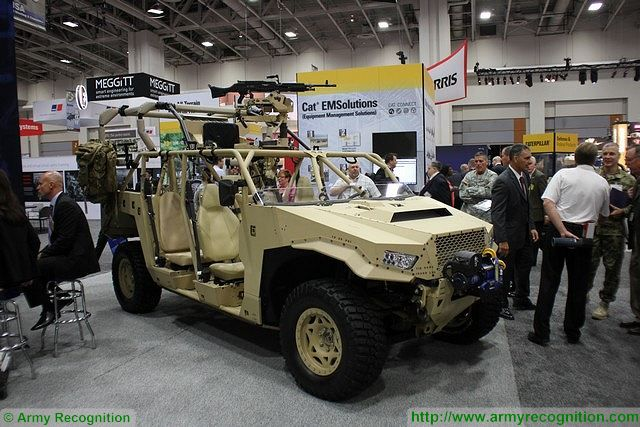 Dagor Polaris 4x4 all-terrain high mobility vehicle at AUSA 2015 640 002