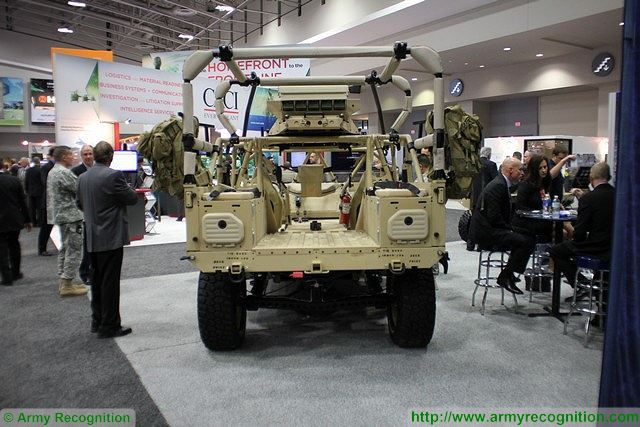 At AUSA 2015, U.S. army annual meeting and exposition, Polaris Defenses showcases a new updated version of its Dagor 4x4 all-terrain high mobility vehicle. The Dagors was developed by Polaris to fill a mobility gap for light infantry, expeditionary and special operations forces. The new variant of the Dagor is fitted with two additional seats located at the rear of the vehicle protected by a tubular frame.