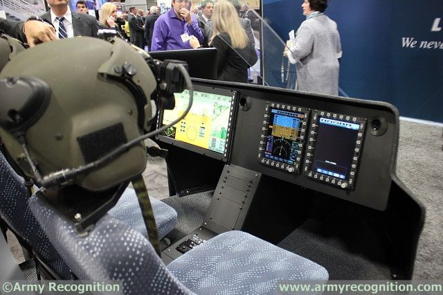 Elbit Systems Helicopter Cockpit AUSA 2015 news