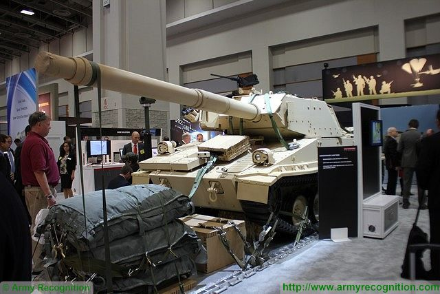 Expeditionary Light Tank airdropped airborne troops BAE Systems AUSA 2015 640 001