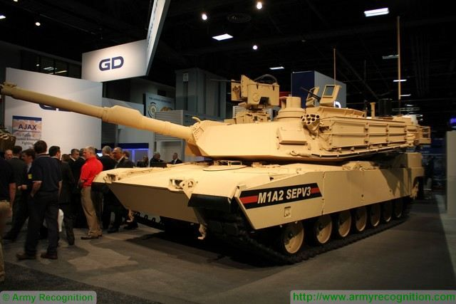 M1A2 Abrams SEPV3 advanced digital main battle tank AUSA 2015 640 001