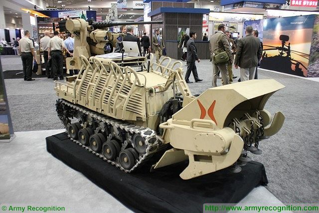 The Micro-Utility Vehicle in fire support variant can carry the standard M-153 Common Remote Operated Weapon Station (CROWS), which can fire a M240B 7.62mm machine gun, M2 12.7mm machine gun, or automatic grenade launcher Mk19, while on the move. The CROWS can also be equipped with a Javelin anti-tank guided missile, in addition to the primary weapon.