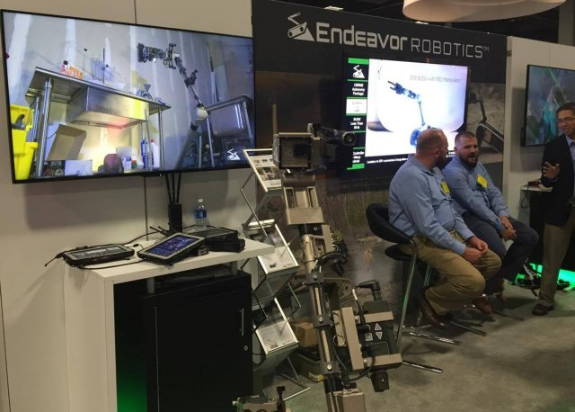 Endeavor Robotics Announces Teaming Arrangement with Leidos at AUSA 2016 640 001