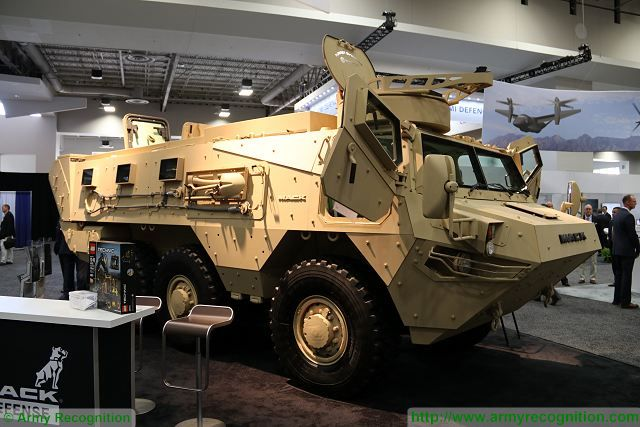 At AUSA 2016, the Association of United States Army Exhibition and Conference which takes place in Washington D.C., the American Company MACK Defense announce the first delivery of its Lakota 6x6 armoured personnel carrier without disclosing the customer.