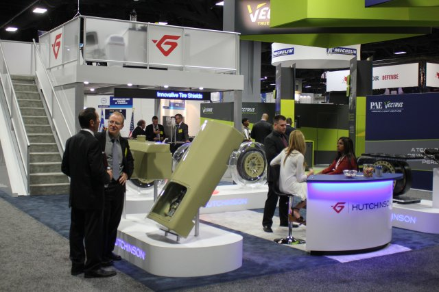 Hutchinson exhibits at AUSA 2016 in Washington DC USA 640 001