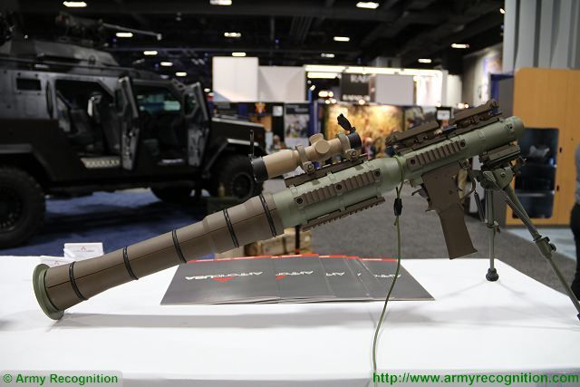 New US-made Rocket Propelled Grenade PSRL-1 able to fire all rockets of Soviet RPG-7 640 001