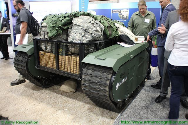 QinetiQ from US and MILREM from Estonia introduce Titan unmanned ground vehicle at AUSA 640 001