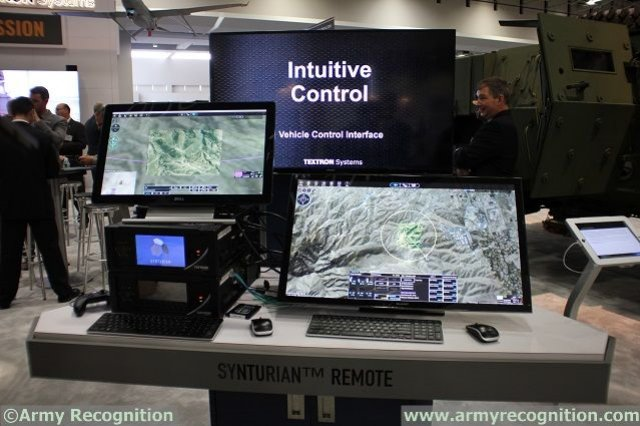 Textron Debuts Synturian Family of Multi-Domain Control and Collaboration Technologies at AUSA 640 001