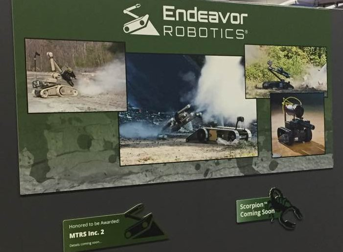 AUSA 2017 Endeavor Robotics wins 100 Million Contract with the United States Army 925 001