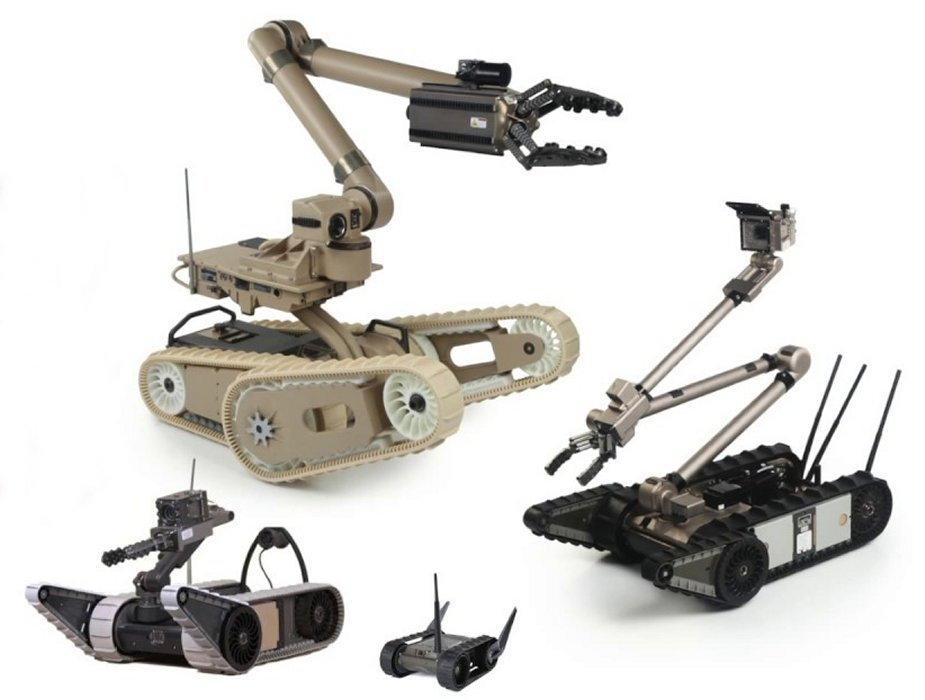 AUSA 2017 Endeavor Robotics wins 100 Million Contract with the United States Army 925 002