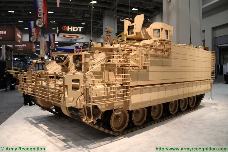 First production vehicle BAE Systems General Purpose of AMPV Armored Multi Purpose Vehicle family at AUSA 2017 925 001