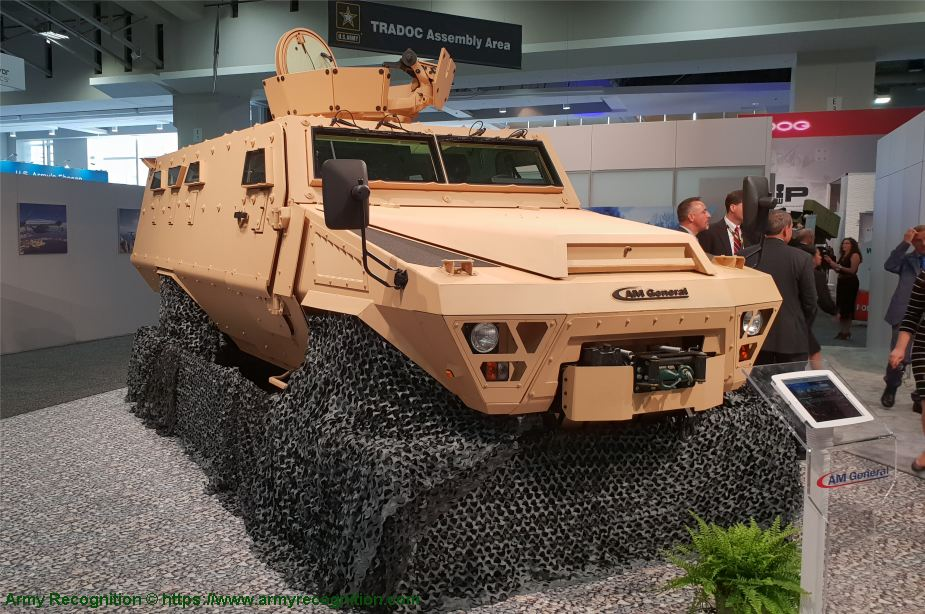 AM General to build French ARQUUS Bastion 4x4 APC in United States AUSA 2018 United States Army defense exhibition 925 001