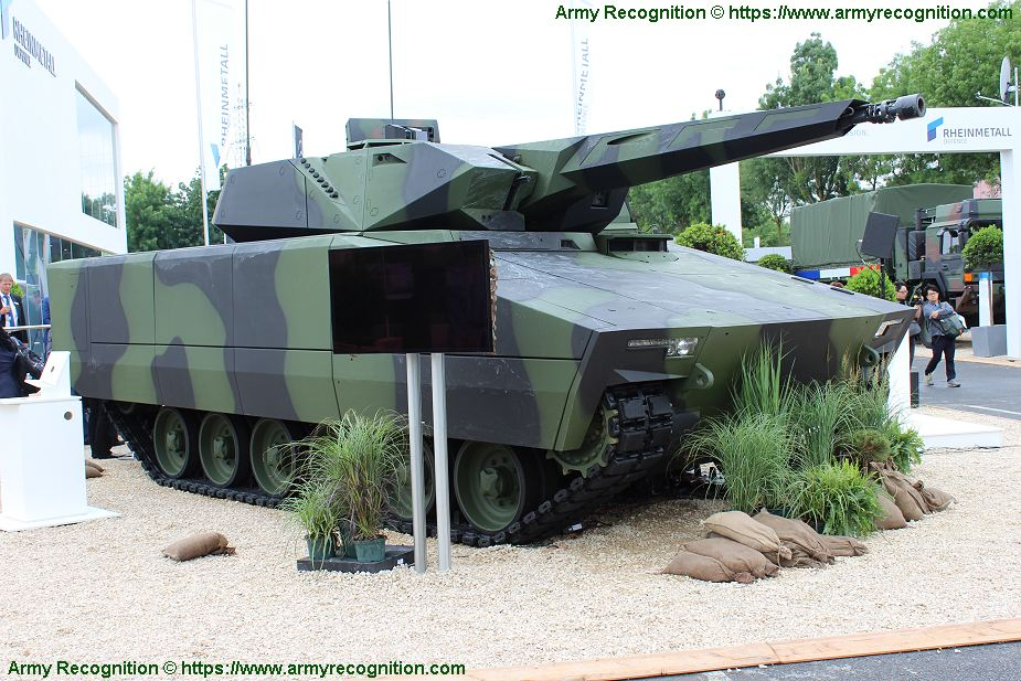 KF41 Lynx tracked armored IFV candidate for NGCV programme of US Army AUSA 2018 United States Army defense exhibition 925 001