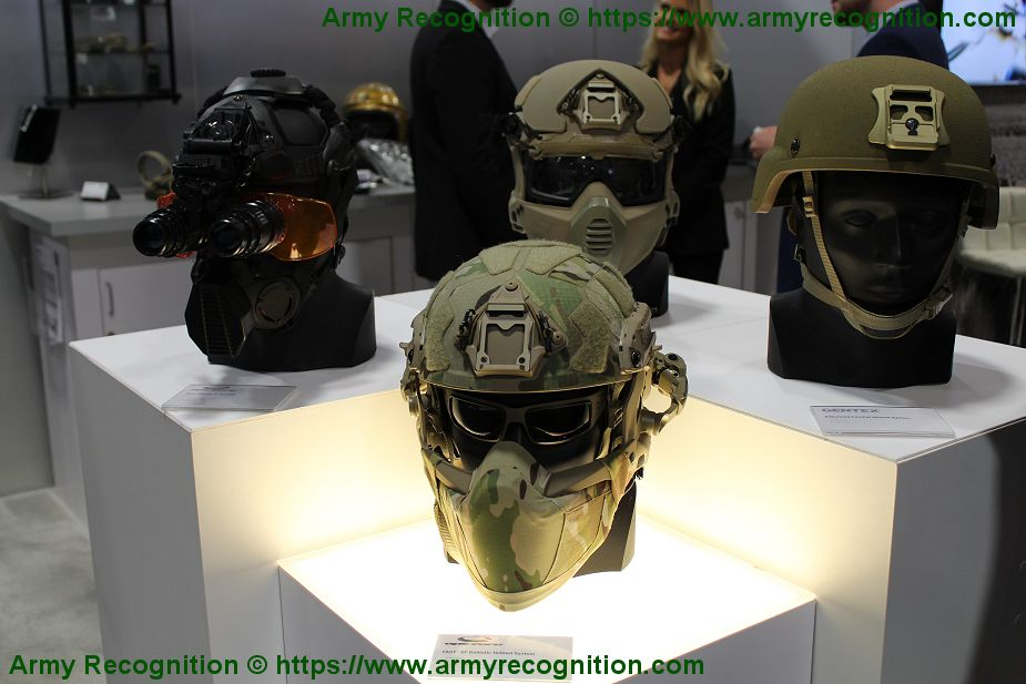 Gentex wins contract to deliver SF helmet to U.S. Special Forces AUSA 2019 925 001