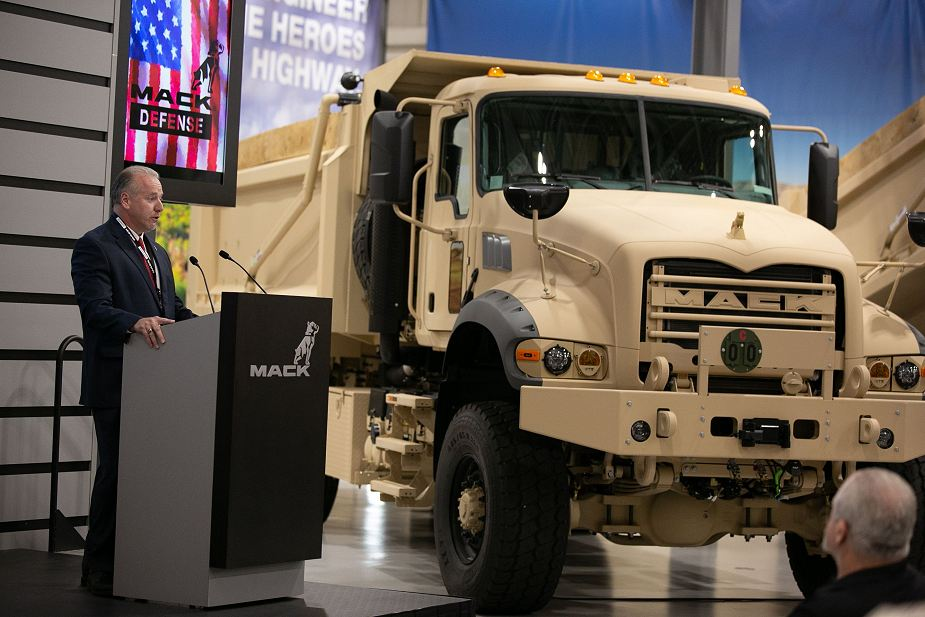 Mack Defense presents solutions of military trucks for U.S Army programs 925 001