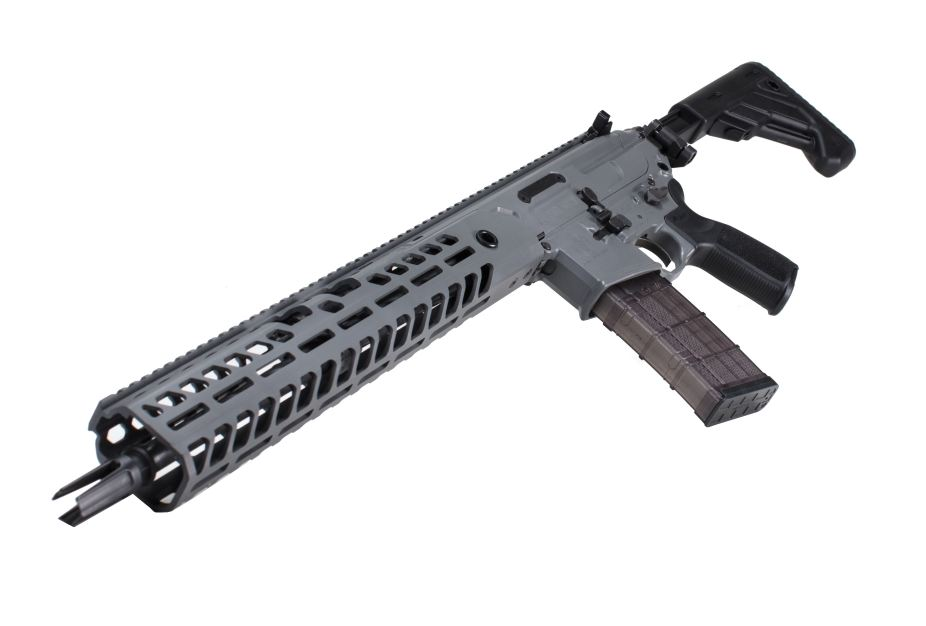 Sig Sauer unveils MCX VIRTUS 5 56mm 300 BLK rifle at Shot Show 2018 Las Vegas United States 925 001