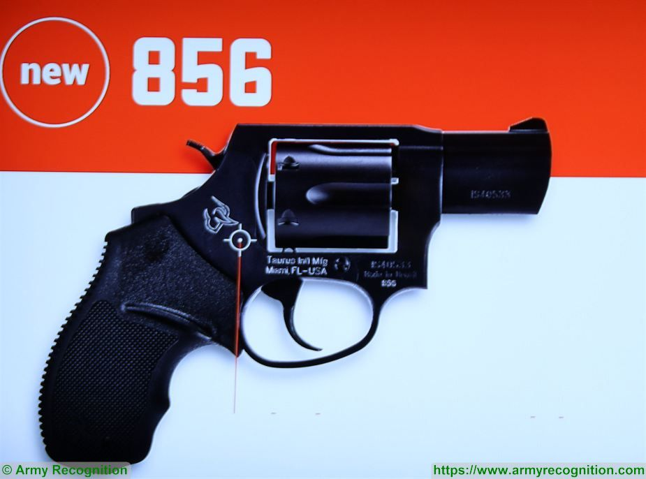 Taurus USA introduces its new 856 revolver at Shot Show 2018 925 001