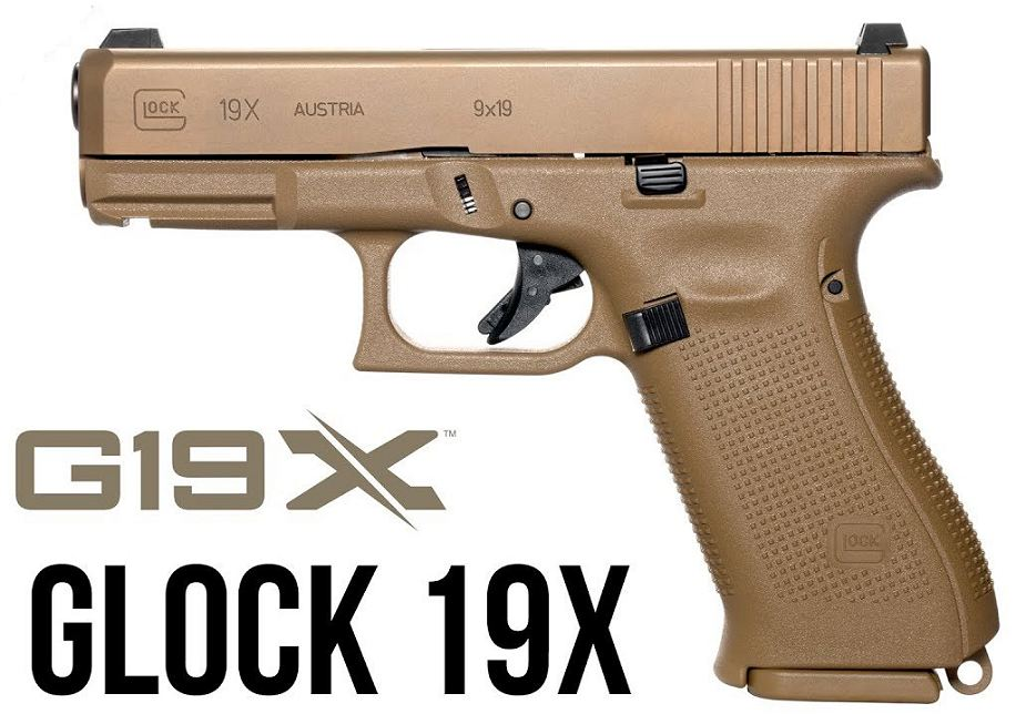 World premiere for Glock 19X 9mm pistol at Shot Show 2018 925 001