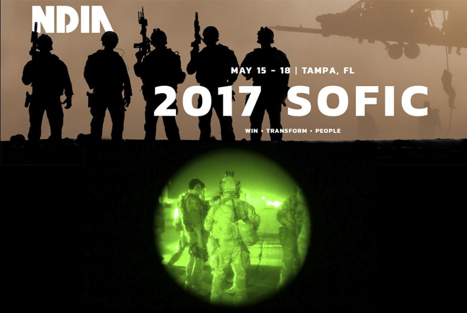 SOFIC 2018 Special Operations Forces Industry Exhibition Conference Tampa United States 925 001
