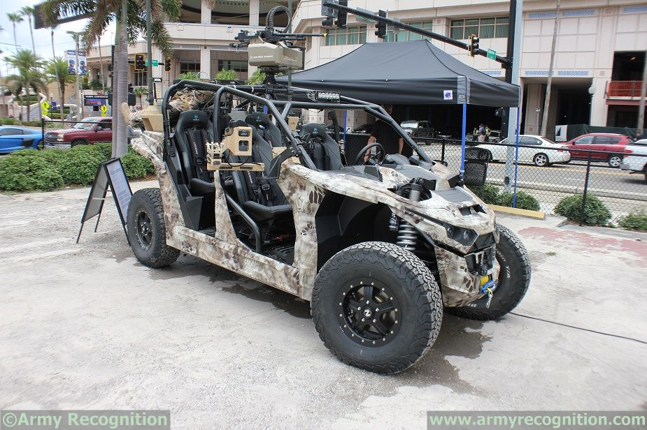 SOFIC 2018 Nikola Reckless All Electric UTV for Special Forces