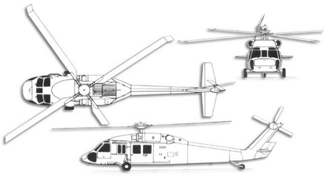 Line Drawing Helicopter : Us army may have operated new secret version uh