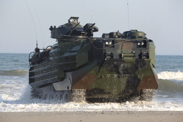 AAV-7 amphibious assault vehicle technical data sheet specifications pictures video