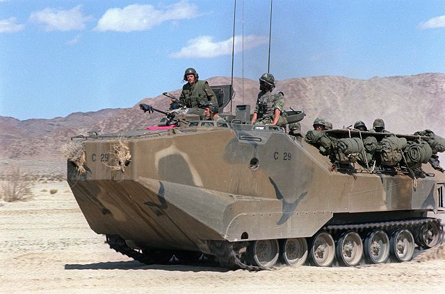 Japan will boost self defense forces capabilities with u s amphibious vehicle aav 7 lvtp 7 2908125